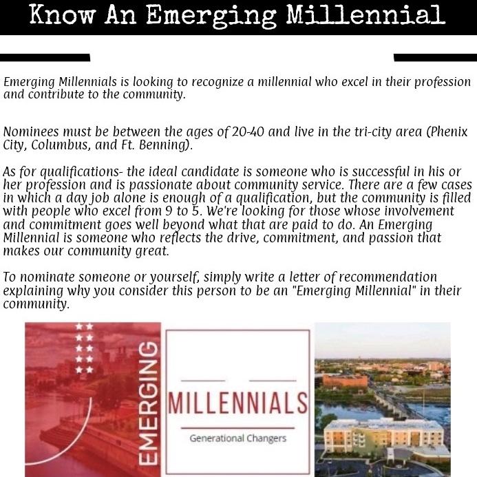 Emerging Millennials Nomination Fly